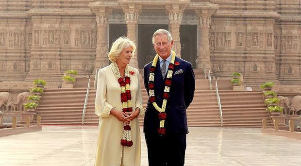 The Prince of Wales and Duchess of Cornwall are on a nine-day tour of India