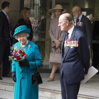 The Queen and the Duke of Edinburgh are due to attend the Royal British Legion Festival of Remembrance