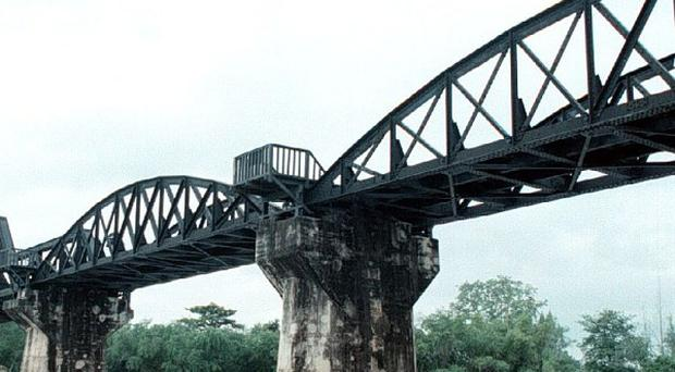 A number of PoWs will mark Armistice Day at the bridge over River Kwai