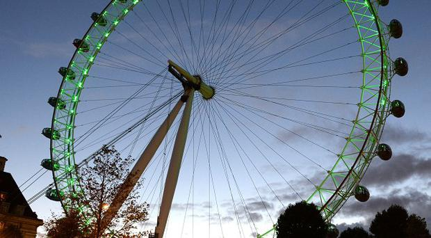 The London Eye - one of the attractions owned by Merlin.
