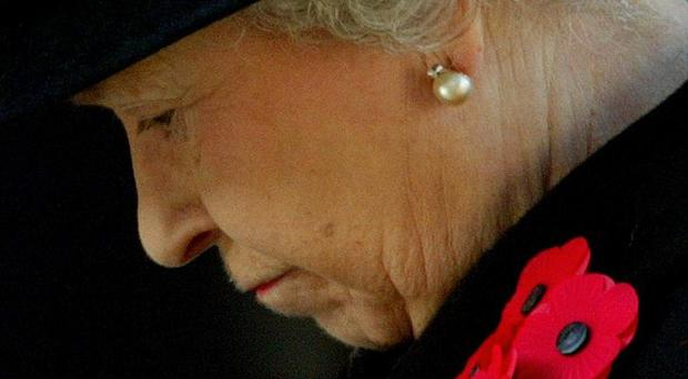 The Queen will lead Britain's Remembrance Sunday ceremonies by laying a wreath at London's Cenotaph