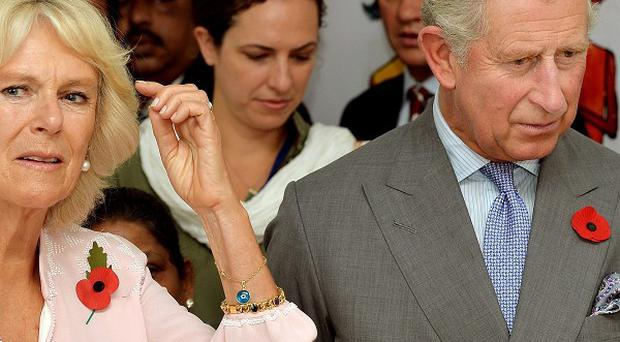 The Prince of Wales and Duchess of Cornwall will mark Remembrance Sunday during their tour of India
