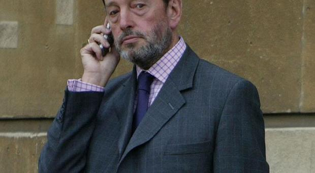 Furious voicemail messages from former Home Secretary David Blunkett have been played to a jury.