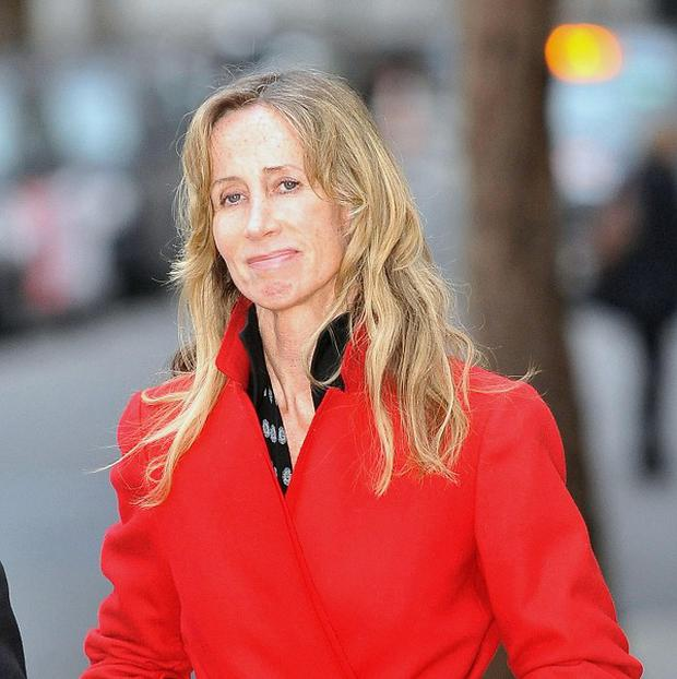 Michelle Young, estranged wife of Scot Young, who is fighting for a multimillion-pound deal at the High Court.