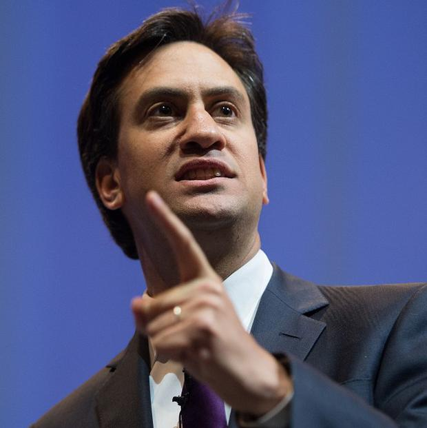 Labour leader Ed Miliband is expected to say that nothing would determine Britain's future