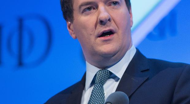 Chancellor George Osborne has warned that Labour's plans pose a threat to the UK's economic recovery.