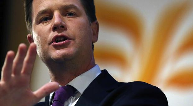 Nick Clegg is to claim that Ed Miliband's Labour Party would 'wreck the recovery' if it governed alone after 2015
