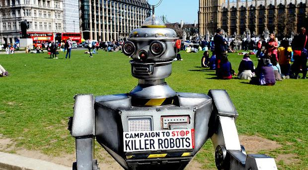 The campaign to ban killer robots is being stepped up