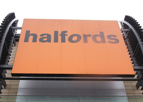 Halfords said it was hit by poor weather and high promotional activity, while the sales fall was also compounded by tough comparisons from a year earlier