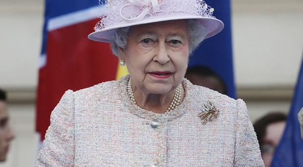 The Queen and the Duke of Edinburgh are meeting injured service personnel who are setting off on a race across Antarctica
