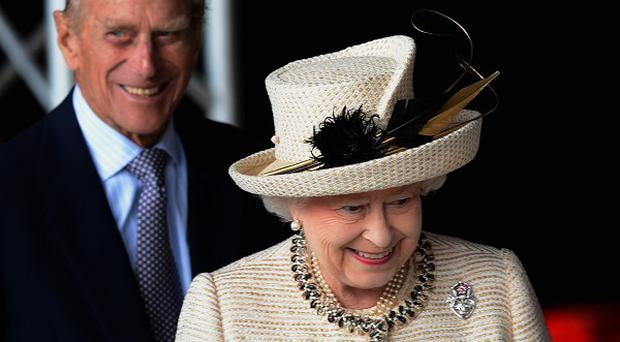The Queen and the Duke of Edinburgh will visit Manchester today.