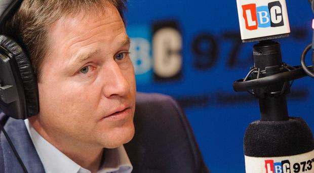 Nick Clegg said Roma immigrants must respect the way life is lived in the UK