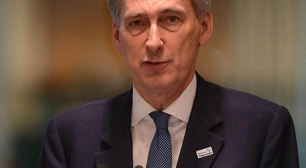 Philip Hammond says he is confident the 35,000 reservist target will be met by 2018