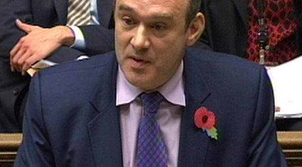 Lib Dem minister Ed Davey has attacked Barack Obama's policy of drone strikes against al Qaida and Taliban leaders in Pakistan