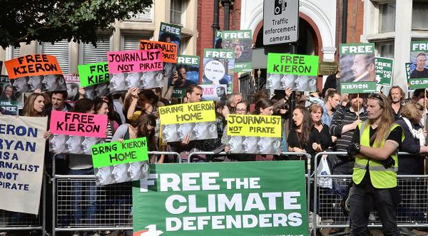 Further protests will be held across the UK as part of Greenpeace's campaign to free those arrested