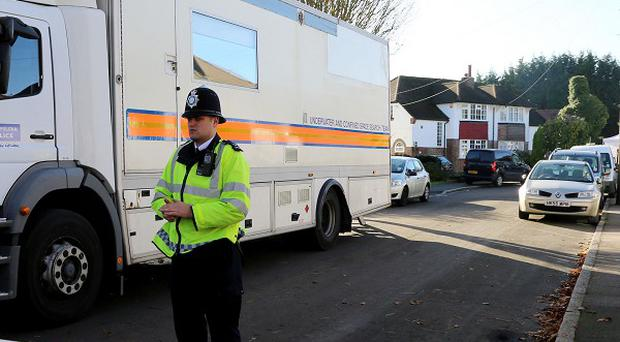 Police said a man whose body was found in a well in Warlingham had been assaulted and tied up