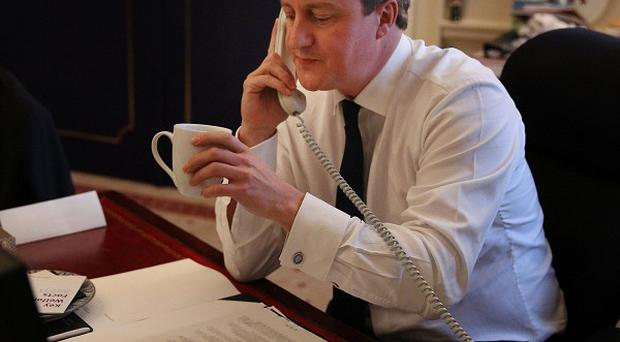 David Cameron spoke to Hassan Rouhani by telephone ahead of negotiations over Tehran's nuclear ambitions