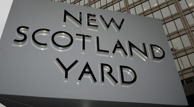 Scotland Yard confirmed two people in their 60s were arrested at their home in south London as part of an investigation into slavery and domestic servitude