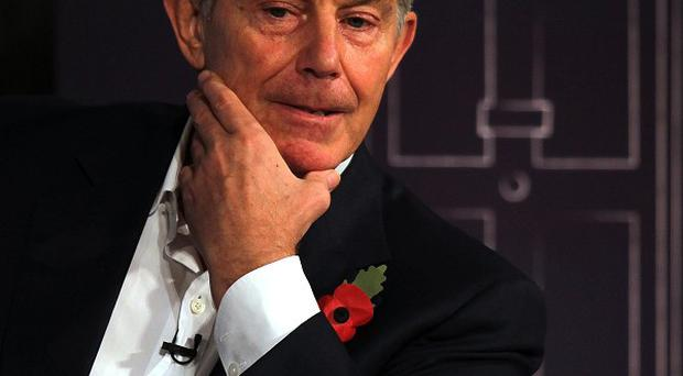 Education is a security issue, says Tony Blair.