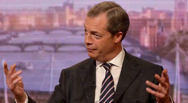 Nigel Farage (pictured) has argued strongly in favour of being allowed to appear in a televised debate between political leaders at the next general election