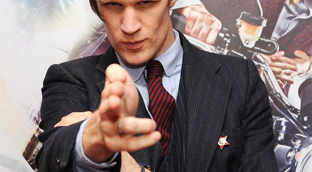 Matt Smith said he has been recognised in some rather inopportune moments
