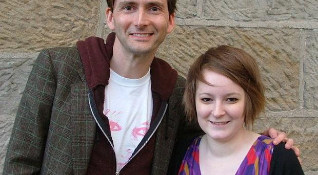 David Tennant has given his support to a book dedicated to Sally Russell