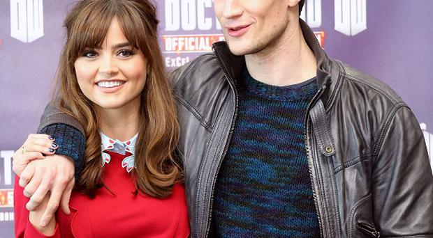 Jenna Coleman and Matt Smith will feature in tonight's programme.