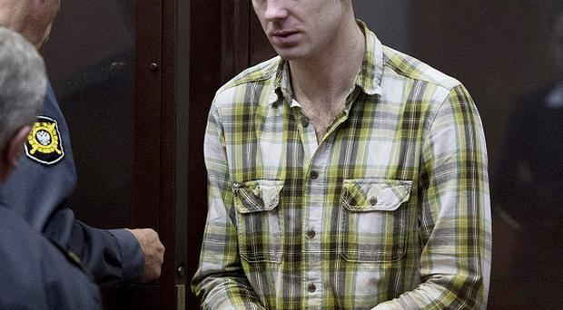 Kieron Bryan is one of six Britons bailed in Russia following arrests made during a Greenpeace protest (PA/Greenpeace)