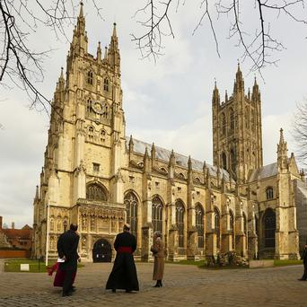 Forty girls are bidding to earn a place in the 20-strong girls' choir at Canterbury Cathedral