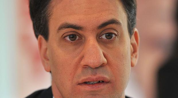 Labour Leader Ed Miliband has accused the Prime Minister of a