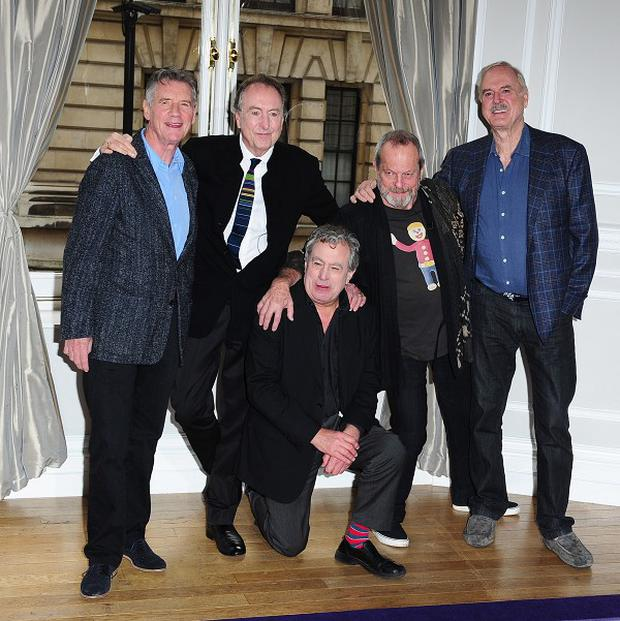The remaining members of Monty Python announced they were getting back together last week