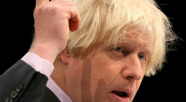The Mayor of London Boris Johnson set out his stall as a political heir to Margaret Thatcher in a speech suggesting their approach would be