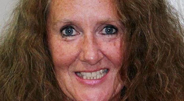 Carole Waugh, 49, was stabbed to death at her flat, where she lived alone, in Marylebone, central London