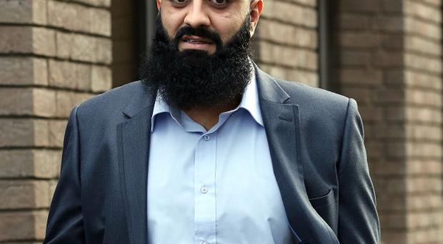 Tayyab Subhani, pictured, and Mohammed Safdar have been cleared of endangering an aircraft on the direction of a judge