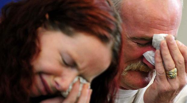 Mairead Philpott, pictured with her husband Mick, is challenging the length of the sentence imposed for the house blaze that killed her six children