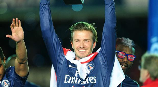 David Beckham has revealed details of his domestic life.