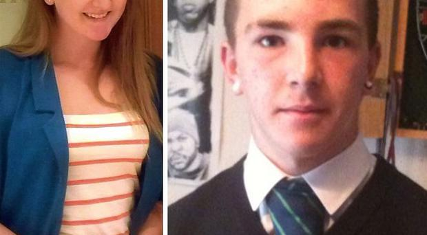 Jenna Barbour, David Armstrong and Josh Stewart died when the car they were travelling in crashed into a wall