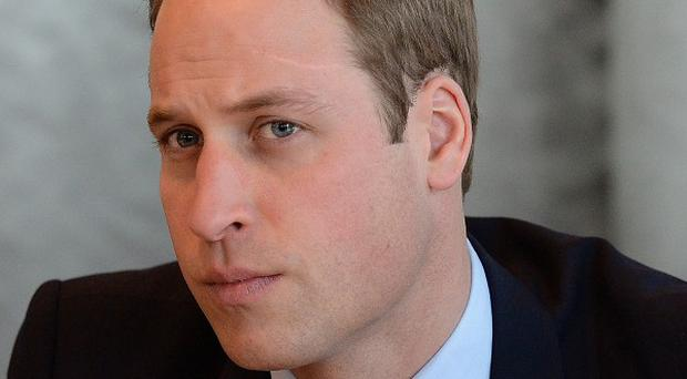 The Duke of Cambridge is visiting a major motorbike show in Birmingham