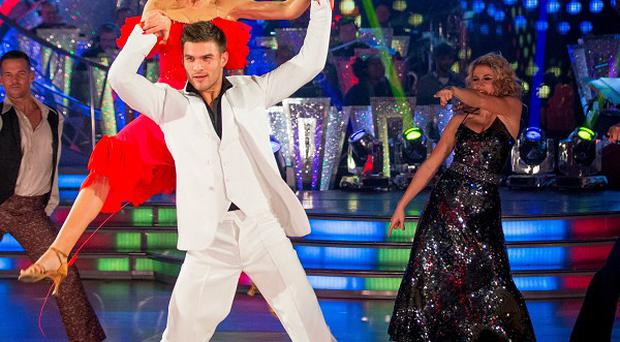 Abbey Clancy and Aljaz Skorjanec got a perfect score on Strictly Come Dancing.