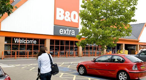 Staff at B&Q are among those sharing in a near ten million pounds boost from a share-based scheme