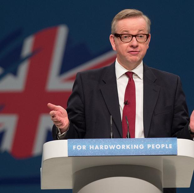 Education Secretary Michael Gove claims Labour created a