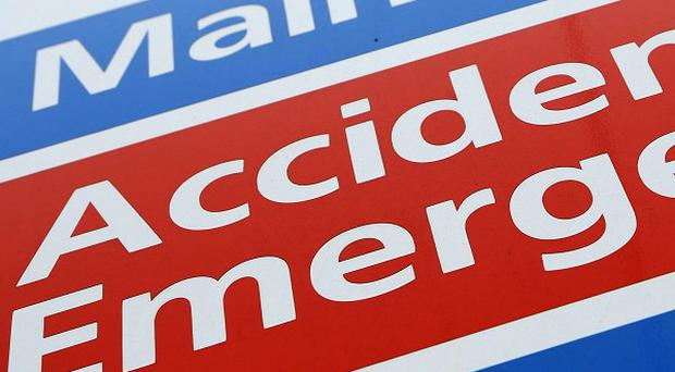 The report shows that the longer people spend in A&E the more likely they are to be admitted