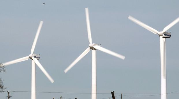 Subsidies to onshore wind turbines are being cut.