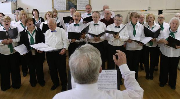 New research has claimed that singing in a choir can be beneficial for mental health