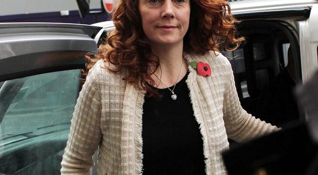 Former News International chief executive Rebekah Brooks at the Old Bailey.