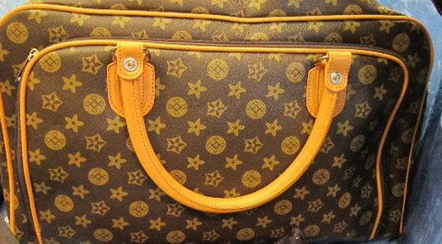 Fake goods so far stopped from entering the UK in the run-up to Christmas include handbags, clothes, sunglasses, toys and DVDs