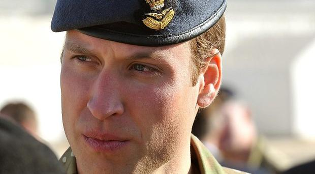 The Duke of Cambridge will today hand out medals to soldiers who have served in Afghanistan.