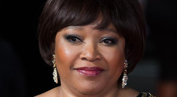 Zindzi Mandela was told of her father's death while watching the Royal Film Performance of Mandela: Long Walk To Freedom, at the Odeon Leicester Square.