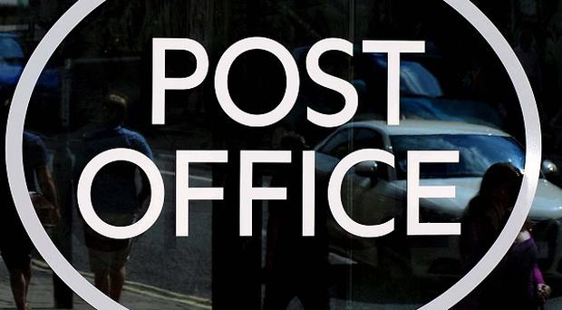 The Post Office's operating profit slipped to £53 million in the first half of the financial year