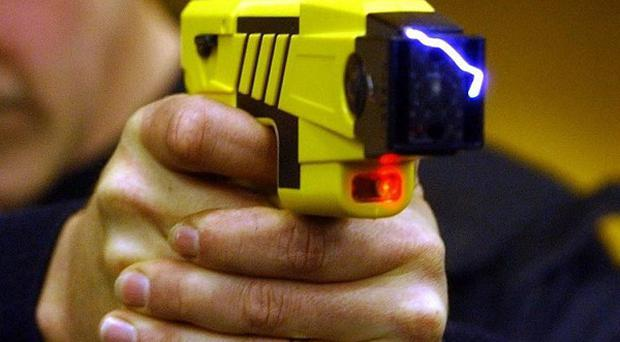 A teenager with learning difficulties was Tasered by police in the grounds of a special school in Devon